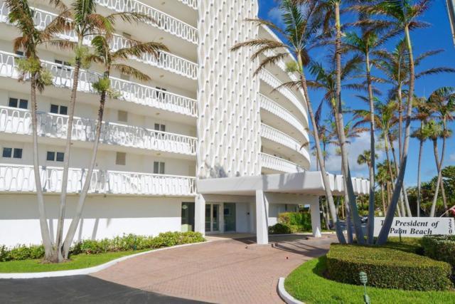 2505 S Ocean Boulevard #5100, Palm Beach, FL 33480 (#RX-10372015) :: Ryan Jennings Group
