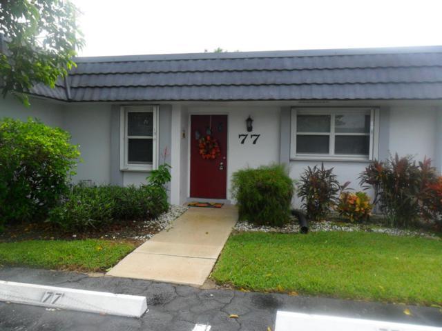 2886 Fernley Drive #77, West Palm Beach, FL 33415 (#RX-10372968) :: Weichert, Realtors® - True Quality Service