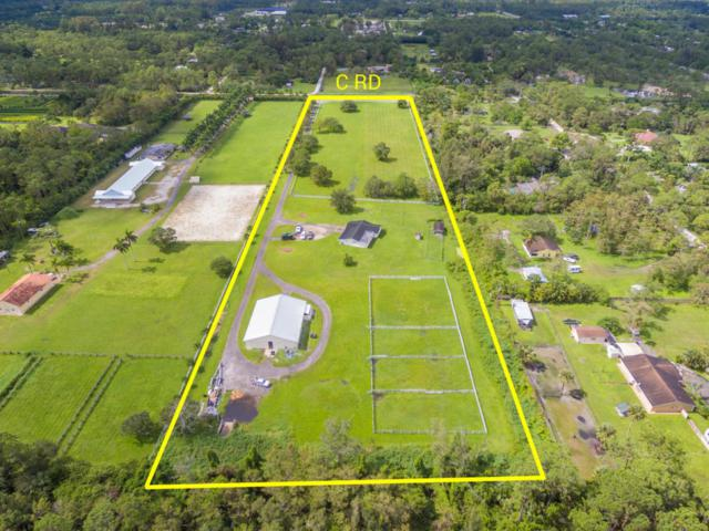 1752 C Road, Loxahatchee Groves, FL 33470 (#RX-10375342) :: The Carl Rizzuto Sales Team
