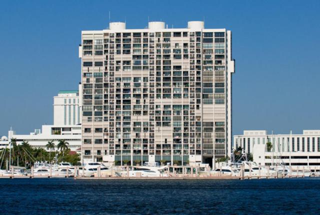 400 N Flagler Drive #1004, West Palm Beach, FL 33401 (#RX-10377644) :: Ryan Jennings Group