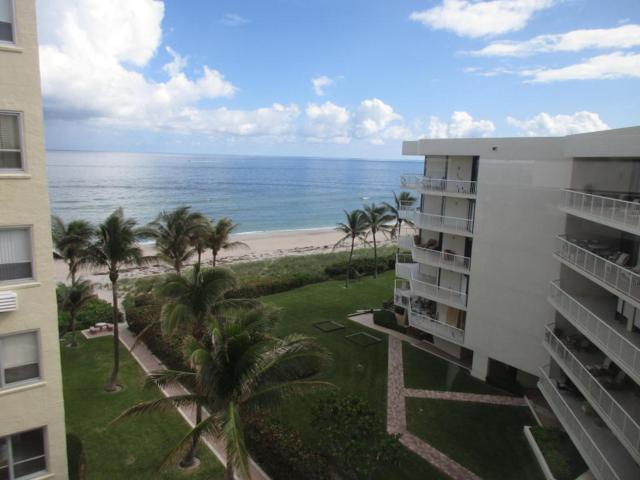 2730 S Ocean Boulevard #609, Palm Beach, FL 33480 (#RX-10380110) :: Ryan Jennings Group