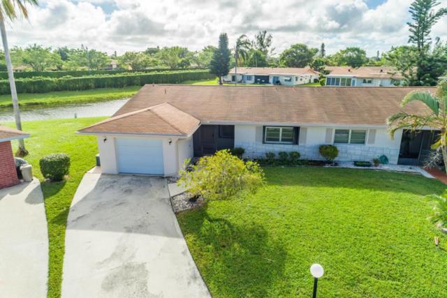 6056 Via Silvanus #A, Delray Beach, FL 33484 (#RX-10382557) :: Ryan Jennings Group
