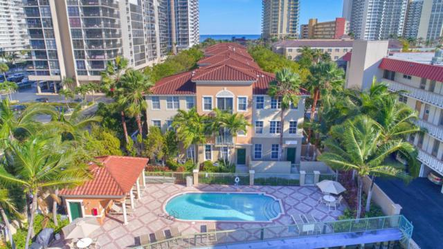 2071 S Ocean Drive Th20, Hallandale Beach, FL 33009 (MLS #RX-10389311) :: Castelli Real Estate Services