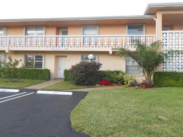 1845 NW 13th Street #103, Delray Beach, FL 33445 (#RX-10390237) :: The Haigh Group   Keller Williams Realty