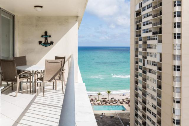 1880 S Ocean Drive Ph1, Hallandale Beach, FL 33009 (MLS #RX-10405773) :: Castelli Real Estate Services