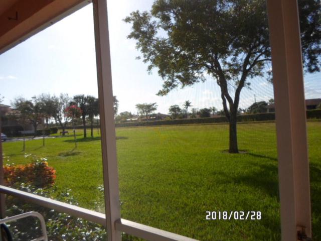 5914 Regal Glen Drive #103, Boynton Beach, FL 33437 (#RX-10410086) :: Ryan Jennings Group