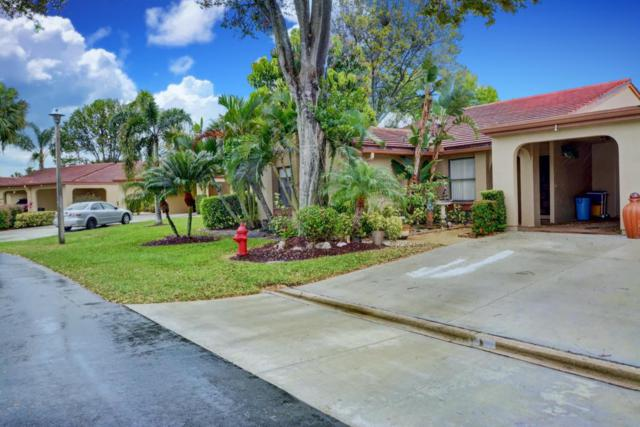 5896 Forest Grove Drive #1, Boynton Beach, FL 33437 (#RX-10413164) :: Ryan Jennings Group