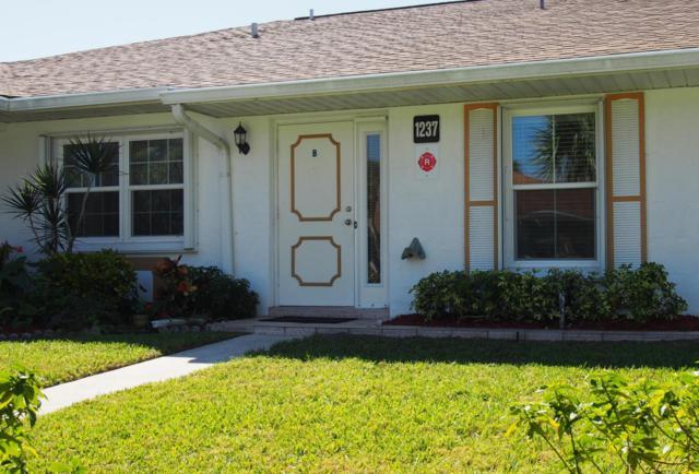 1237 S Lakes End Drive B, Fort Pierce, FL 34982 (#RX-10413546) :: Ryan Jennings Group