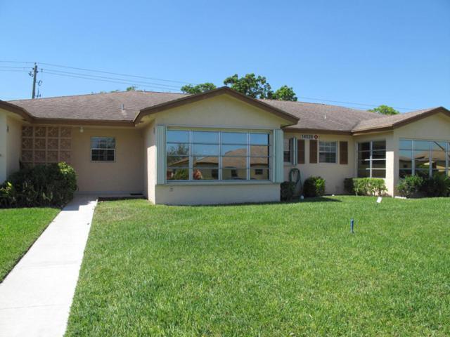 14539 Canalview Drive B, Delray Beach, FL 33484 (#RX-10415015) :: Ryan Jennings Group