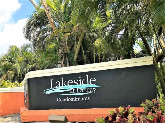 820 Lavers Circle G105, Delray Beach, FL 33444 (#RX-10415929) :: Ryan Jennings Group