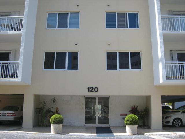 120 Golden Isles Drive 23B, Hallandale Beach, FL 33009 (MLS #RX-10418647) :: Castelli Real Estate Services