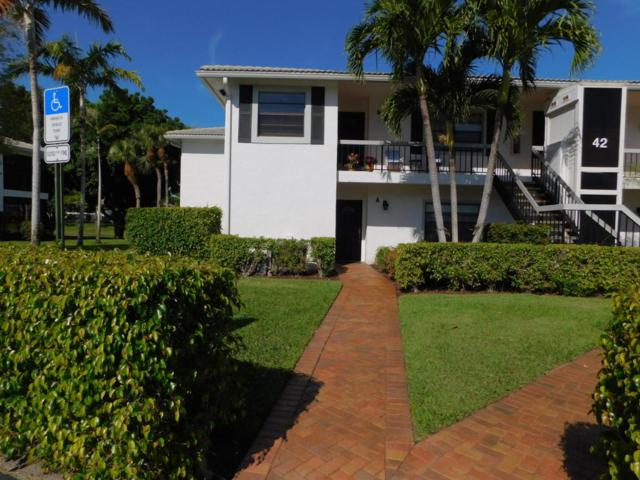 42 Stratford Lane A, Boynton Beach, FL 33436 (#RX-10424768) :: Ryan Jennings Group