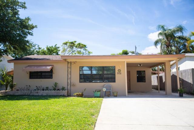 502 W Mango Street, Lantana, FL 33462 (#RX-10425474) :: Ryan Jennings Group