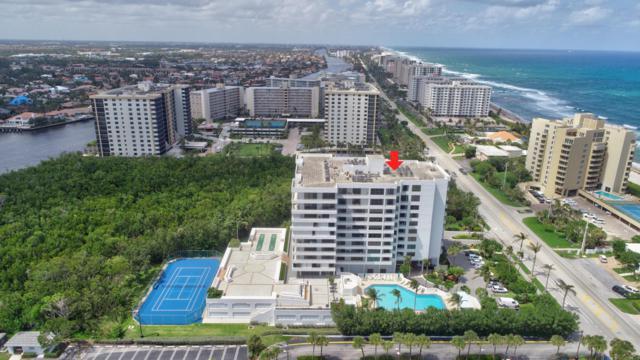 3450 S Ocean Boulevard #701, Highland Beach, FL 33487 (#RX-10429057) :: Ryan Jennings Group