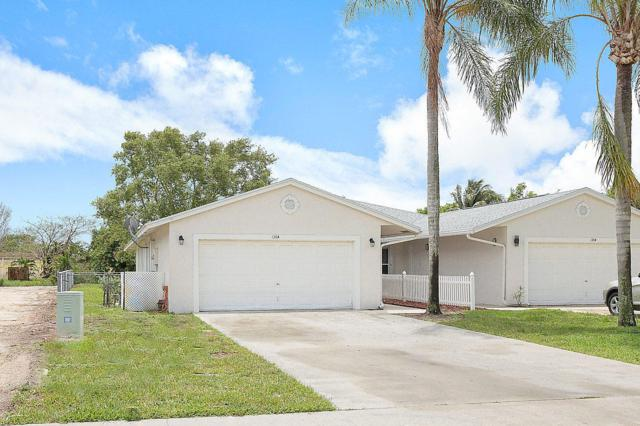 136 Sparrow Drive A, Royal Palm Beach, FL 33411 (#RX-10432625) :: Blue to Green Realty