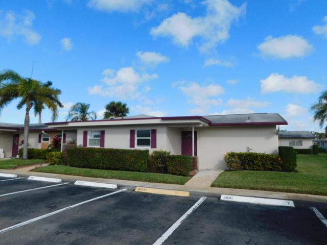 2661 Barkley Drive W A, West Palm Beach, FL 33415 (#RX-10433234) :: Ryan Jennings Group