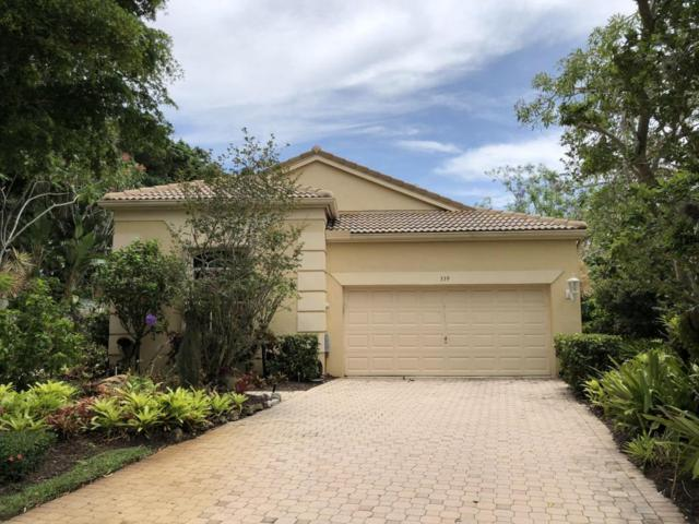 339 Sunset Bay Drive, Palm Beach Gardens, FL 33418 (#RX-10433240) :: Blue to Green Realty