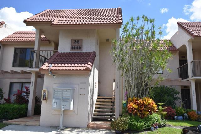 5660 Fairway Park Drive #202, Boynton Beach, FL 33437 (#RX-10436712) :: Ryan Jennings Group
