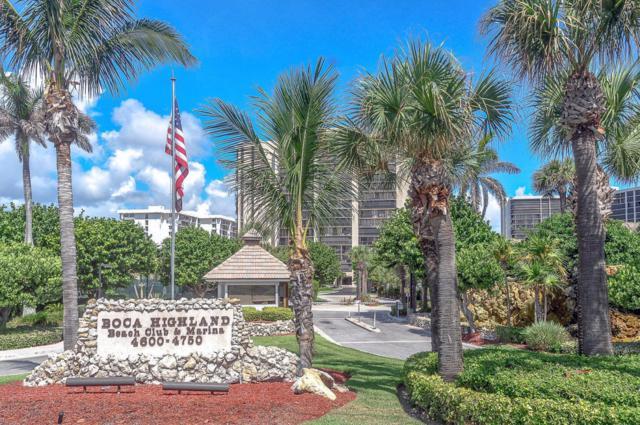 4600 S Ocean Boulevard #304, Highland Beach, FL 33487 (#RX-10439481) :: The Haigh Group | Keller Williams Realty