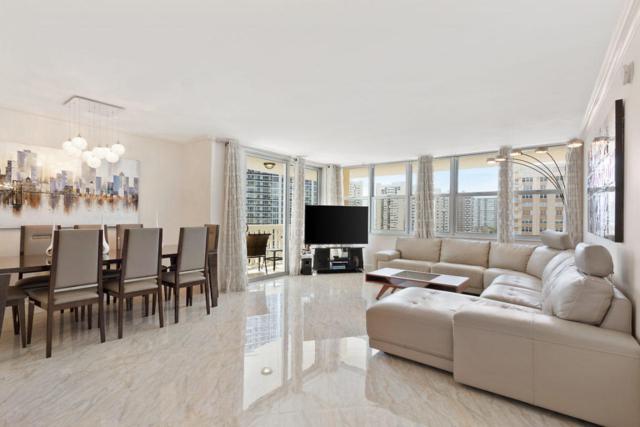 1825 S Ocean Drive #1014, Hallandale Beach, FL 33009 (MLS #RX-10440016) :: Castelli Real Estate Services