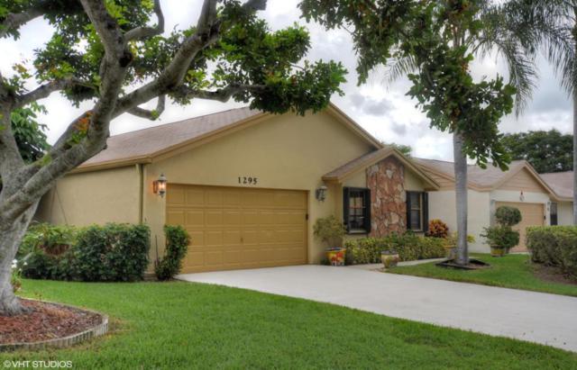 1295 NW 25th Lane, Delray Beach, FL 33445 (#RX-10441324) :: The Reynolds Team/Treasure Coast Sotheby's International Realty