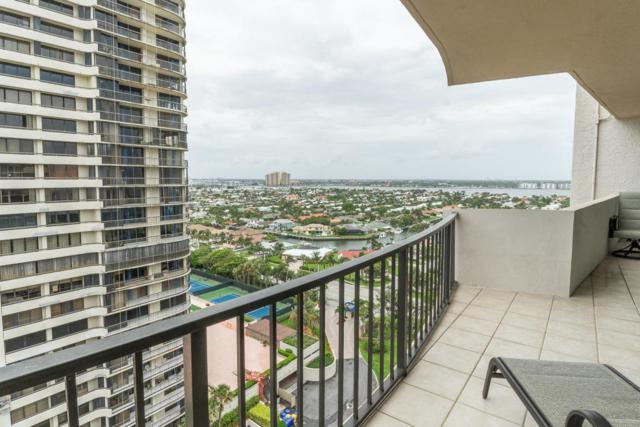 4200 N Ocean Drive 2-1703, Riviera Beach, FL 33404 (#RX-10442691) :: Ryan Jennings Group