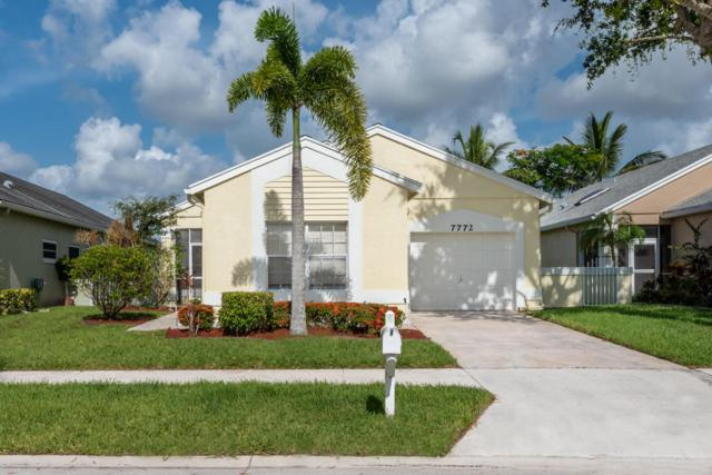7772 Mansfield Hollow Road, Delray Beach, FL 33446 (#RX-10448584) :: Blue to Green Realty