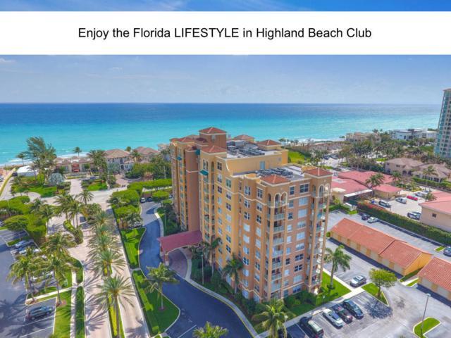 3594 S Ocean Boulevard #606, Highland Beach, FL 33487 (MLS #RX-10449387) :: Castelli Real Estate Services