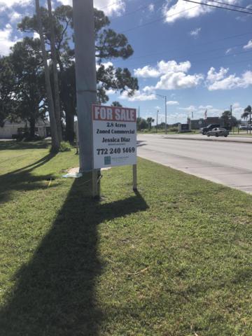 3805 Okeechobee Road, Fort Pierce, FL 34982 (MLS #RX-10456174) :: Berkshire Hathaway HomeServices EWM Realty