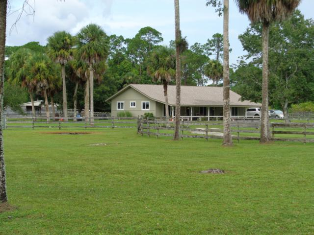 3571 E Road, Loxahatchee Groves, FL 33470 (#RX-10457457) :: The Carl Rizzuto Sales Team