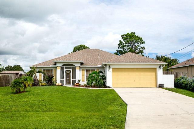 485 SW Dahled Avenue, Port Saint Lucie, FL 34953 (#RX-10458742) :: Ryan Jennings Group