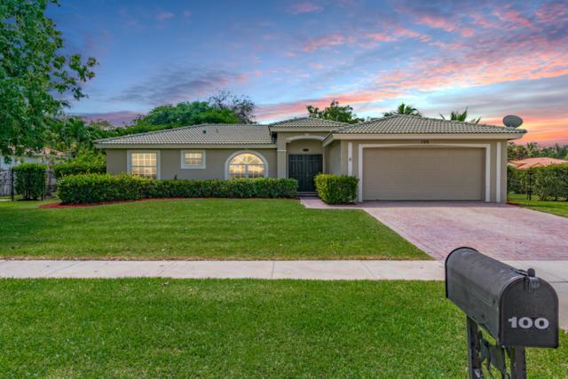 100 Chestnut Circle, Royal Palm Beach, FL 33411 (#RX-10465417) :: Blue to Green Realty