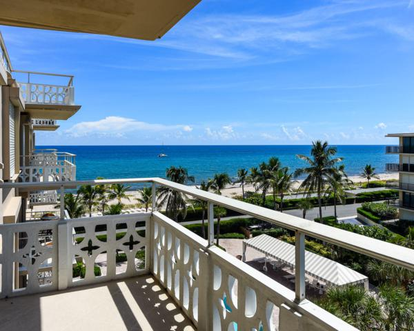 170 N Ocean Boulevard #605, Palm Beach, FL 33480 (#RX-10465758) :: Blue to Green Realty