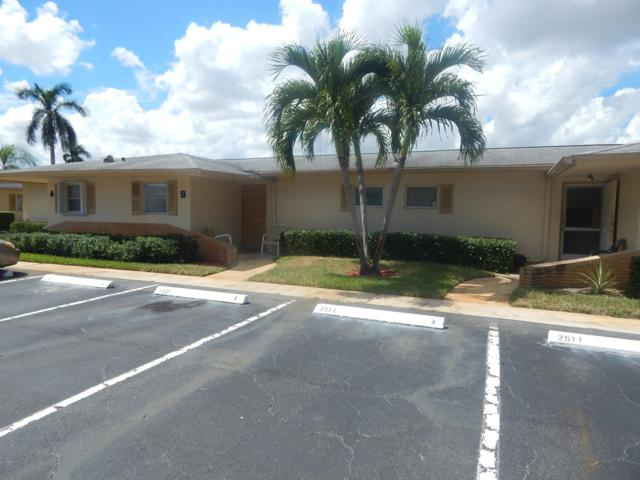 2511 Barkley Drive W B, West Palm Beach, FL 33415 (#RX-10466030) :: Blue to Green Realty