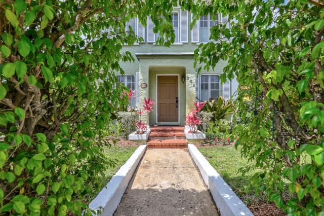 309 Pershing Way #1, West Palm Beach, FL 33401 (#RX-10466059) :: Blue to Green Realty