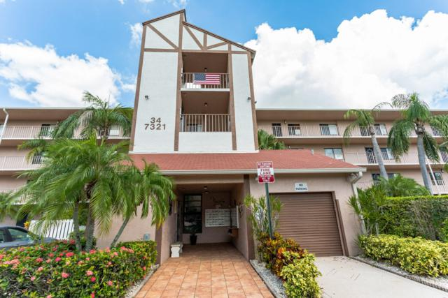 7321 Amberly Lane #209, Delray Beach, FL 33446 (#RX-10466169) :: Blue to Green Realty
