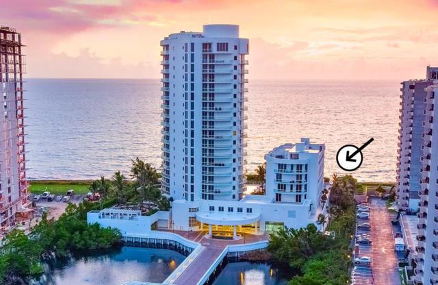 4600 N N Ocean Drive #407, Riviera Beach, FL 33404 (#RX-10468060) :: Ryan Jennings Group