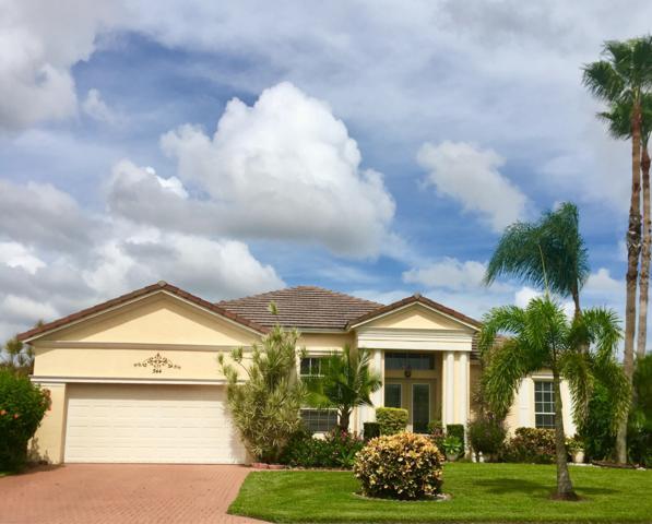 544 SW Lake Manatee Way, Port Saint Lucie, FL 34986 (MLS #RX-10470896) :: Berkshire Hathaway HomeServices EWM Realty