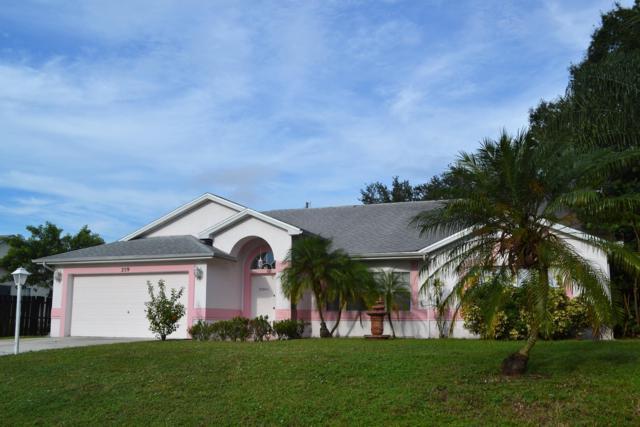 259 SW Quick Circle, Port Saint Lucie, FL 34953 (#RX-10472965) :: Ryan Jennings Group