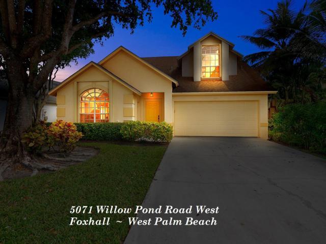 5071 Willow Pond Road W, West Palm Beach, FL 33417 (#RX-10473029) :: The Reynolds Team/Treasure Coast Sotheby's International Realty