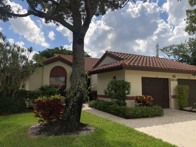 5916 Sunswept Lane A, Boynton Beach, FL 33437 (#RX-10474503) :: The Haigh Group   Keller Williams Realty