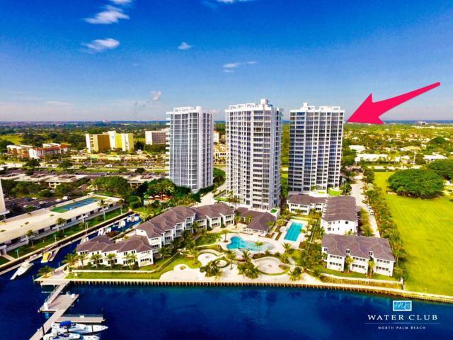 1 Water Club Way 2001 N, North Palm Beach, FL 33408 (#RX-10479223) :: The Rizzuto Woodman Team