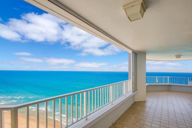 5200 N Ocean Drive 1701-A, Singer Island, FL 33404 (#RX-10480026) :: Blue to Green Realty