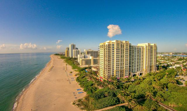 3800 N Ocean Drive #1410, Singer Island, FL 33404 (#RX-10480568) :: Blue to Green Realty