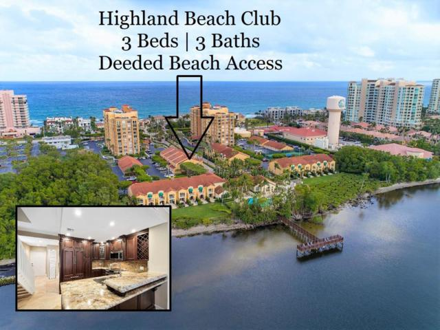 3596 S Ocean Boulevard #108, Highland Beach, FL 33487 (#RX-10481922) :: The Reynolds Team/Treasure Coast Sotheby's International Realty