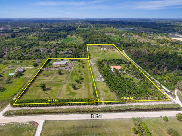 2269/2379 B Road, Loxahatchee Groves, FL 33470 (#RX-10482488) :: Ryan Jennings Group
