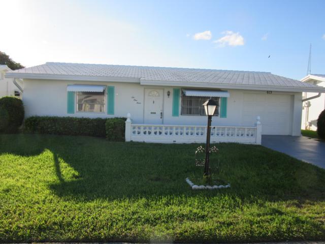 613 SW 21st Circle, Boynton Beach, FL 33426 (MLS #RX-10482845) :: Castelli Real Estate Services