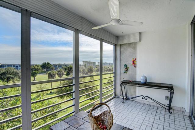 3900 Oaks Clubhouse Drive #503, Pompano Beach, FL 33069 (MLS #RX-10483063) :: Castelli Real Estate Services