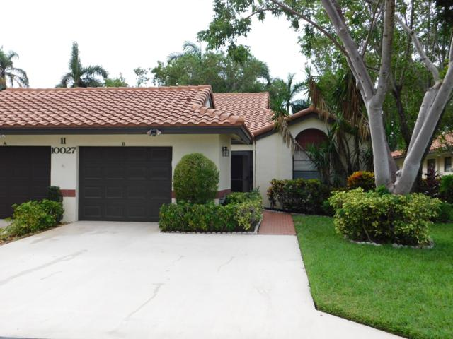10027 Andrea Lane B, Boynton Beach, FL 33437 (MLS #RX-10485380) :: The Paiz Group