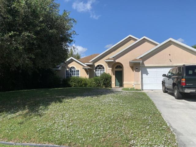 881 SW Haas Avenue, Port Saint Lucie, FL 34953 (MLS #RX-10485757) :: Castelli Real Estate Services